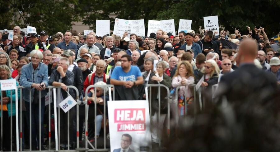 Den svenske valgkamp er i fuld gang. Nu melder de svenske myndigheder ud, at flere svenske partier har været udsat for forsøg på cyberangreb.