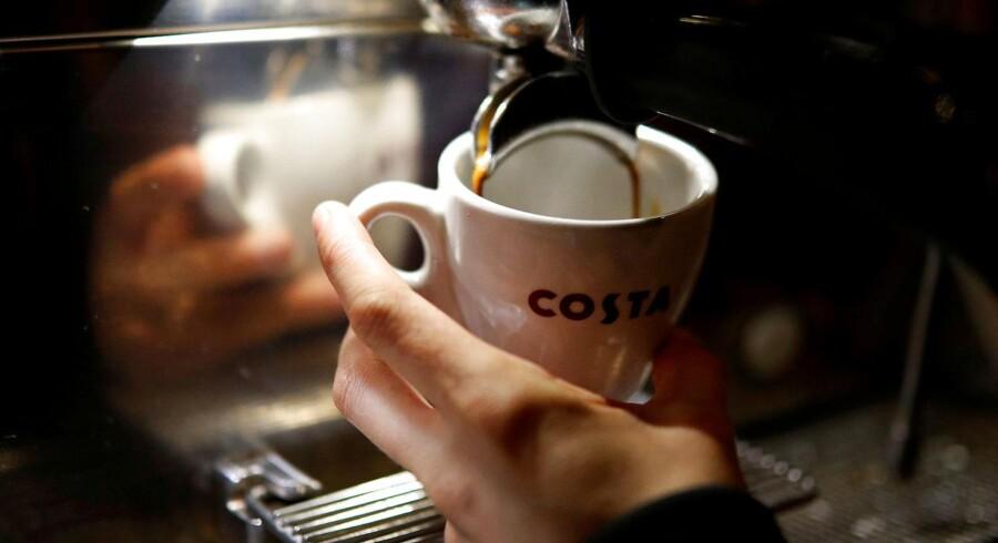 Coca Cola køber kaffekæden Costa Coffee for 32,5 mia. kr.