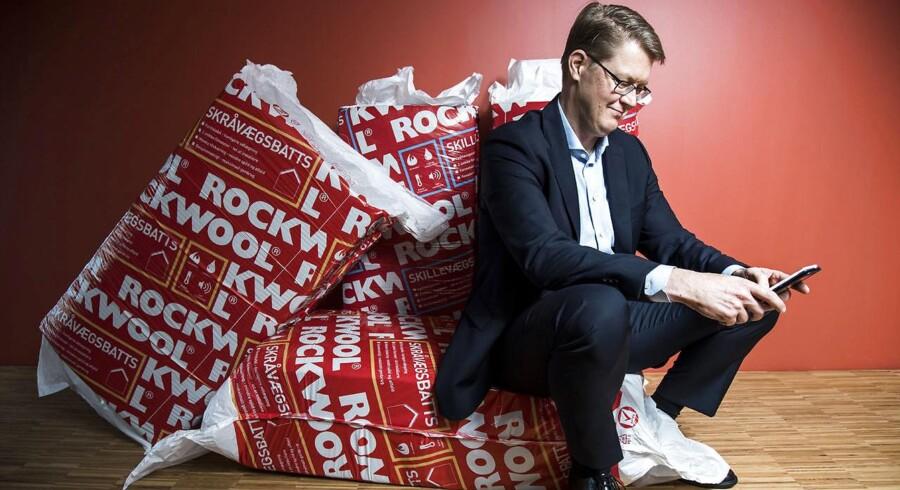 Rockwools adm. direktør Jens Birgersson er en af de ledende medarbejdere, som har draget nytte af aktieoptionerne. Arkivfoto: Søren Bidstrup / Ritzau Scanpix.