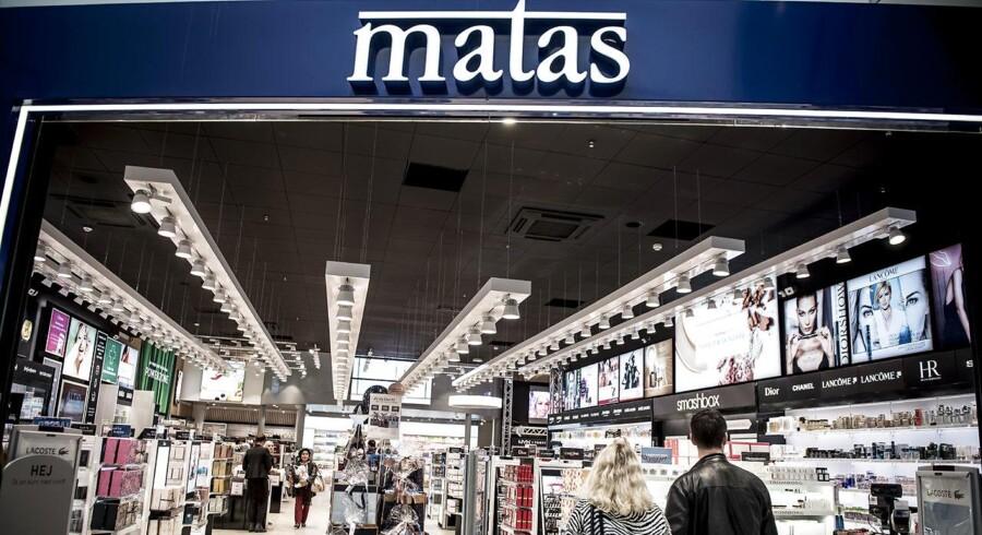 AEKIVFOTO: Matas i shoppingcenteret Fields i København, onsdag den 7. november 2017.