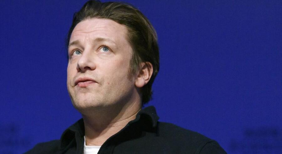 Den britiske stjernekok Jamie Oliver var timer for at se sit restaurantimperium styrte sammen.