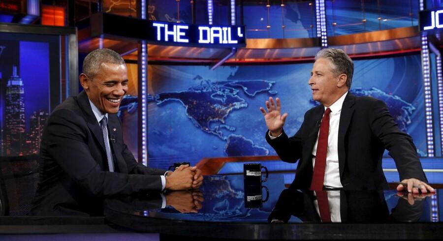Den tidligere Daily Show-vært Jon Stewart besøger lørdag den 13. oktober i Royal Arena i København