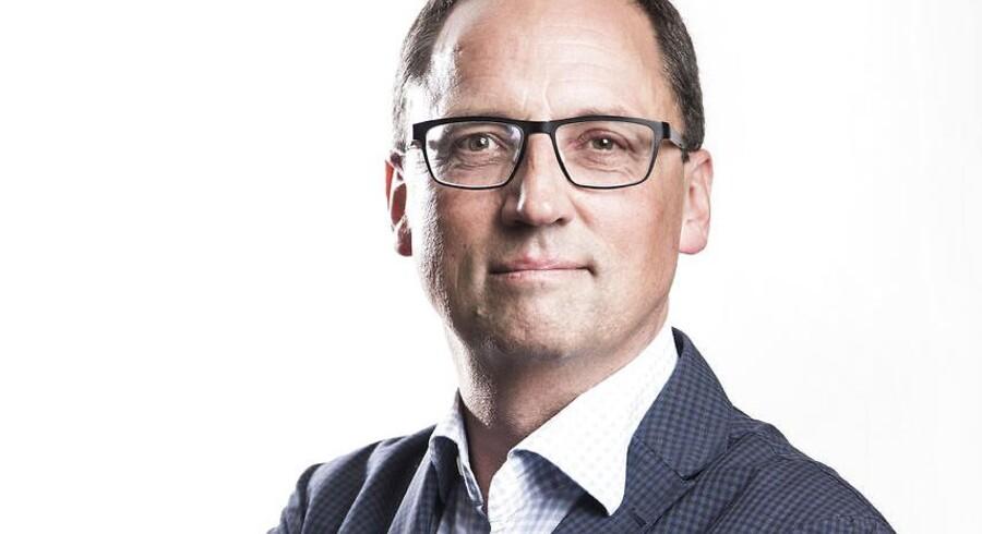 Portræt af Morten Hesseldahl. Det Kgl. Teaters direktør skriver klummer.