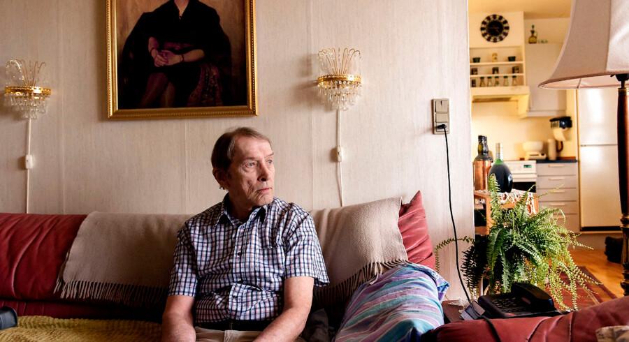 76-årige Søren Andresen risikerer at skulle flytte på grund af regeringens ghettoplan. Han har boet i området siden 1994 og siger, at det vil være en »menneskelig katastrofe« for ham at flytte.