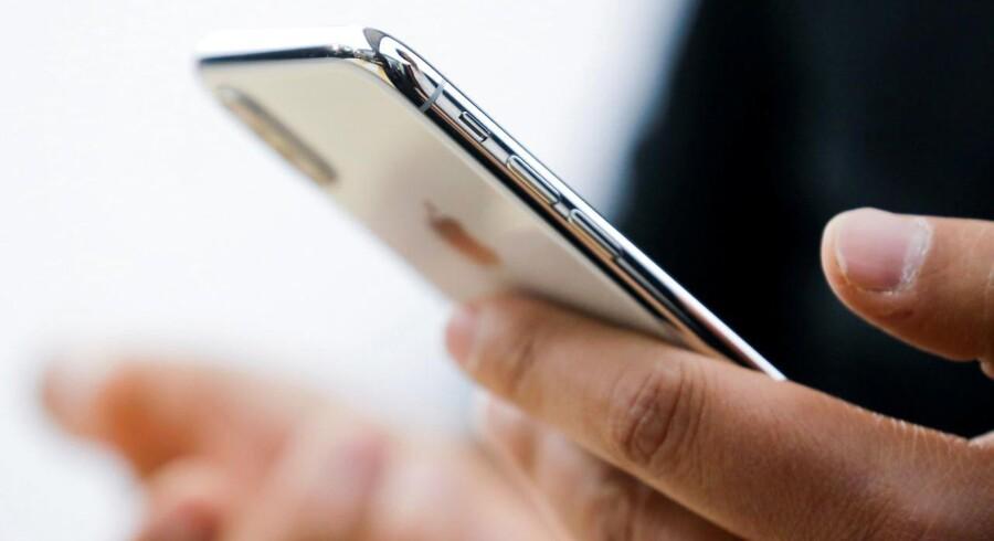 Arkivfoto. De kommende tre iPhones forventes at ligne iPhone X, som blev lanceret sidste år.
