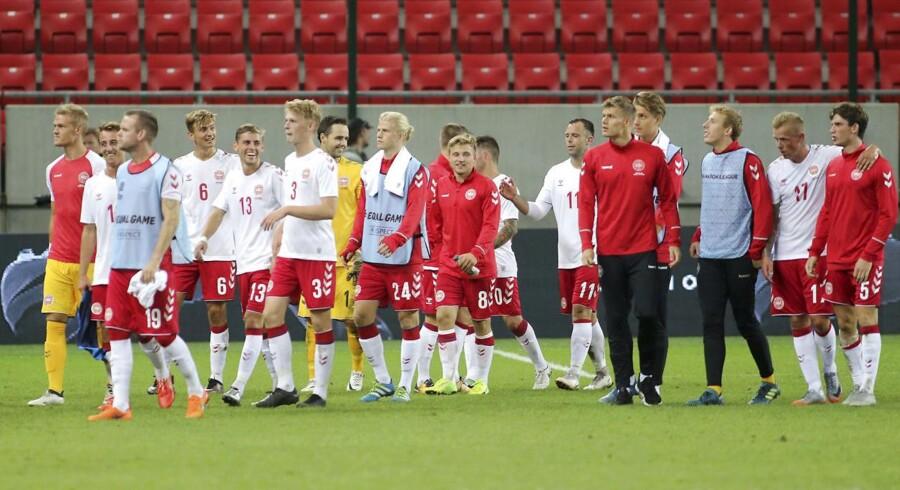 Vikar-landsholdet kan komme i aktion igen i søndagens kamp mod Wales.