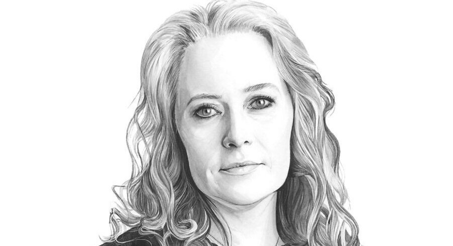 Anne Sofie Allarp. Tegning: Kate Copeland