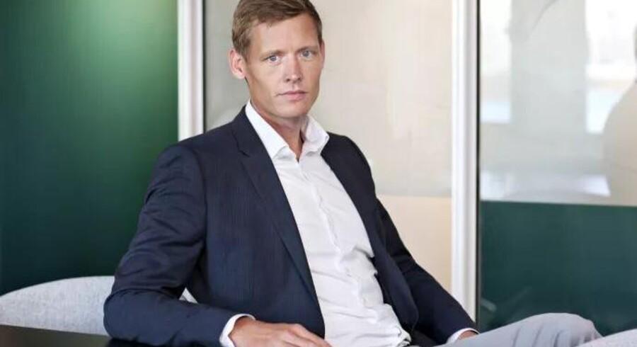 Jacob Mortensen, som i fire år har siddet med i YouSees ledelse, overtager fra 27. august direktørposten hos Danmarks største TV-leverandør. Foto: TDC