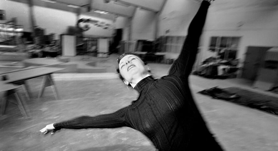Randi Patterson fotograferet, da hun var aktiv danser. Arkivfoto: Peter Elmholt / Ritzau Scanpi