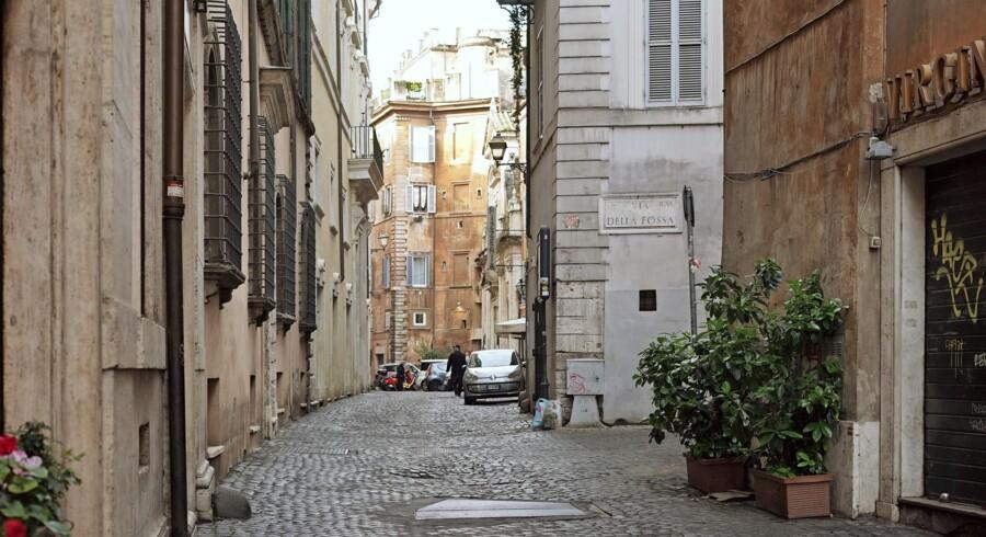 Trastevere er et af Roms mest hyggelige og autentiske kvarterer og dermed det helt rette sted at indlogere sig på sin rejse til byen. Fotos: Monica Grue Steffensen