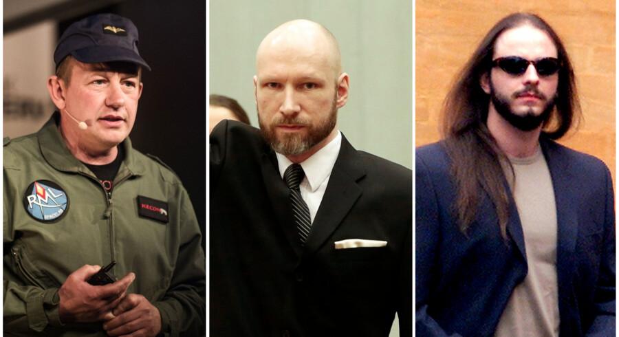 Peter Madsen, Anders Behring Breivik og Peter Lundin har det til fælles, at de alle har tiltrukket sig kvindelig opmærksomhed, selv om de alle er dømt for mord.