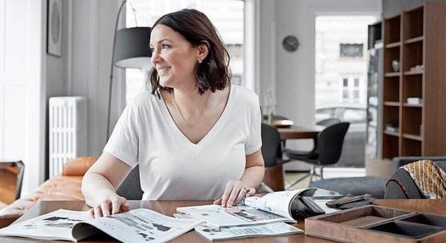 Mia Petersson er indretningskonsulent hos BoConcept på 10. år og derudover indretningsekspert i tv-programmet 'Helvedes Hus'. Foto: PR