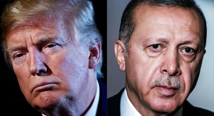 Den diplomatiske krise mellem USA og Tyrkiet tager til og risikerer at kaste lange skygger over verdensøkomien.