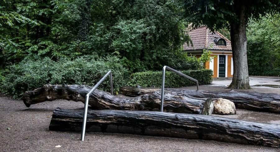 Legepladsen i Frederiksberg Have er for kedelig, mener formand for kommunens By- og Miljøudvalg samt folketingsmedlem Jan E. Jørgensen (V). Derfor er den en del af regeringens forslag til finanslov, som præsenteres på torsdag.