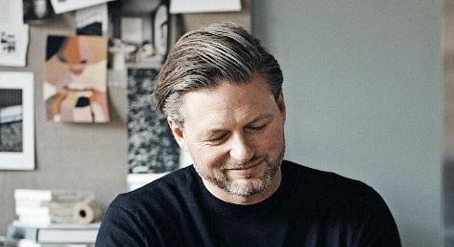 Michael Andersen vil helst bo minimalistisk og kun omgive sig med ting, som har en funktion. Foto: PR