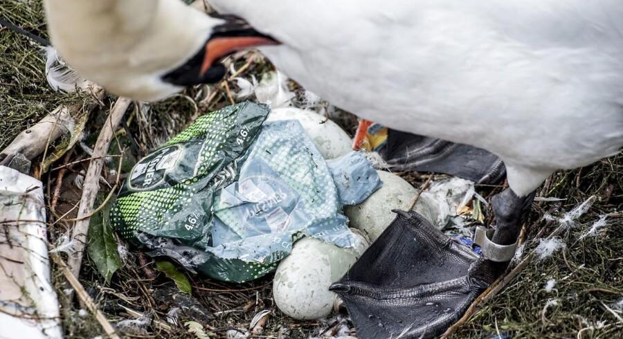 Danmark har længe arbejdet for at nedbringe brugen af plastikposer.