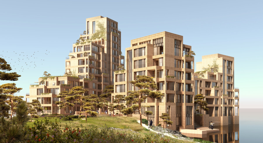 Byggeriet forventes færdig i 2023.