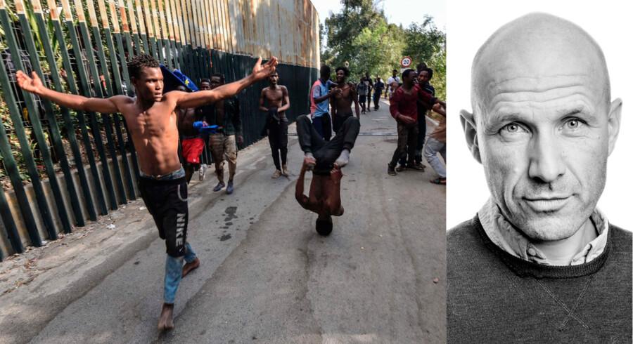 DFs lokalpolitiker i Faxe, Steen Petersen, har på Facebook opfordret det spanske politi til at »skyde for at ramme« de afrikanske migranter, der kom ind i Ceuta, en spansk enklave i Marokko.