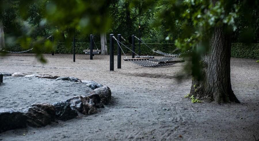 Regeringens finanslovsforslag sender atter penge fra Hovedstaden til provinsen, omend københavnerne kan glæde sig over, at der er sat penge af til legepladser som denne i Frederiksberg Have. Foto: Celina Dahl, Scanpix Ritzau