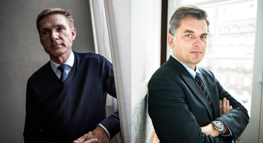 Venstres Jan E. Jørgensen og Dansk Folkepartis formand, Kristian Thulesen Dahl, er dybt splittede om Københavns rolle som hovedstad.