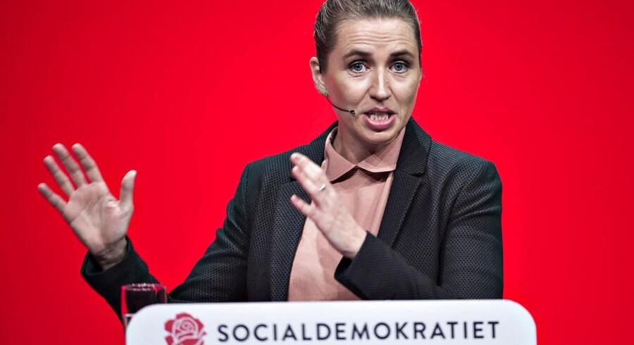 Socialdemokratiet fremlægger sit finanslovsforslag med titlen »Gør gode tider bedre - for alle«.
