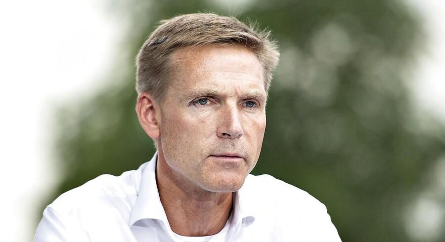 Dansk Folkepartis partiformand, Kristian Thulesen Dahl.