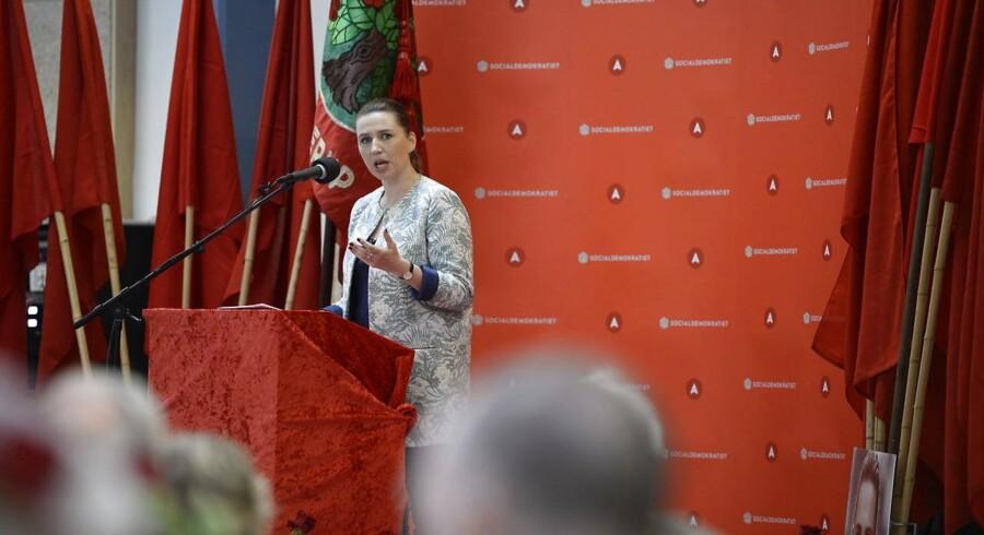 Formand for Socialdemokratiet, Mette Frederiksen.
