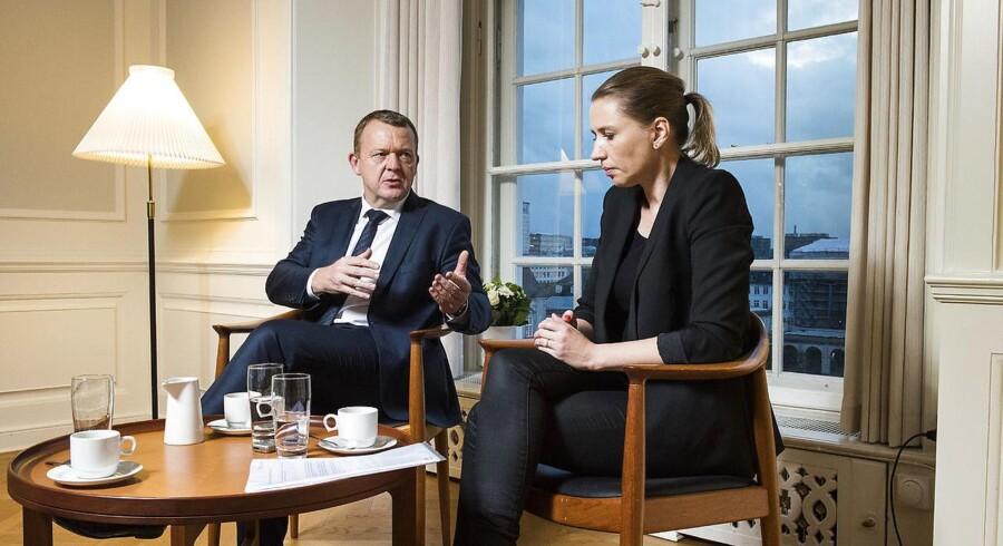 Venstre-formand Lars Løkke Rasmussen er statsminister, og Socialdemokratiets leder, Mette Frederiksen, vil rigtig gerne være det. Men står det til flere borgmestre fra både Venstre og Socialdemokratiet, burde de to partier snarere overveje et fælles fremtidigt regeringssamarbejde.