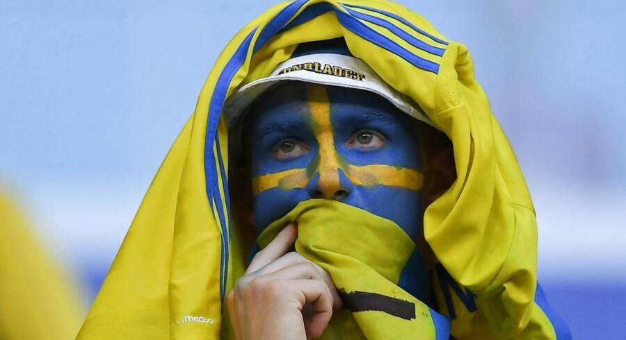 Selv om svensk økonomi vokser markant hurtigere end dansk økonomi, er der flere udfordringer at tage fat på, når valget til det svenske parlament er afholdt søndag 9. september 2018. Arkivfoto: Manan Vatsyayana/AFP Photo