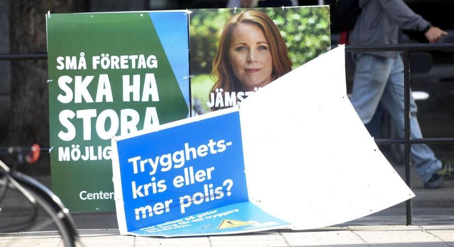 Den svenske valgkamp kører for fuldt tryk før valget til Riksdagen søndag 9. september. Valgkampen kører på et tidspunkt, hvor der er pæn fart på den svenske økonomi, men den danske eksport til Sverige har det lidt svært.