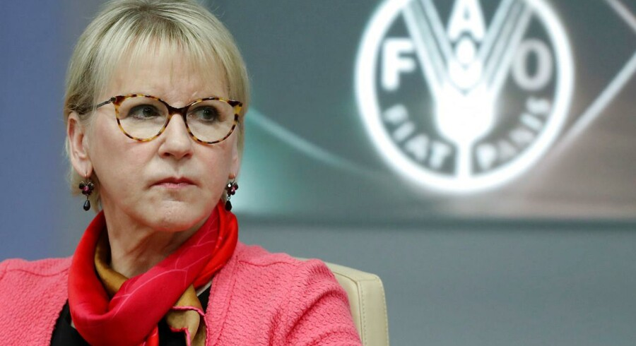 Den svenske udenrigsminister, Margot Wallström