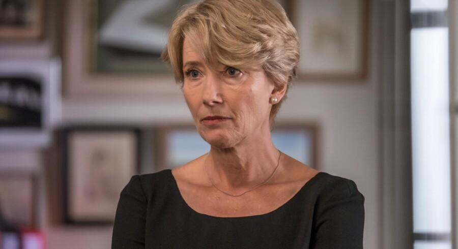 Emma Thompson er en urkraft i rollen som dommer Fiona Maye i »Dommerens valg« - endelig en rolle der matcher hendes talent
