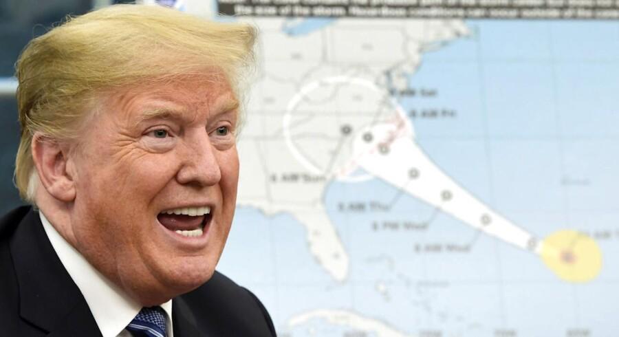 Præsident Donald Trump har kaldt klimaforandringerne for et »kinesisk fupnummer« og agter at trække sig fra Parisaftalen.