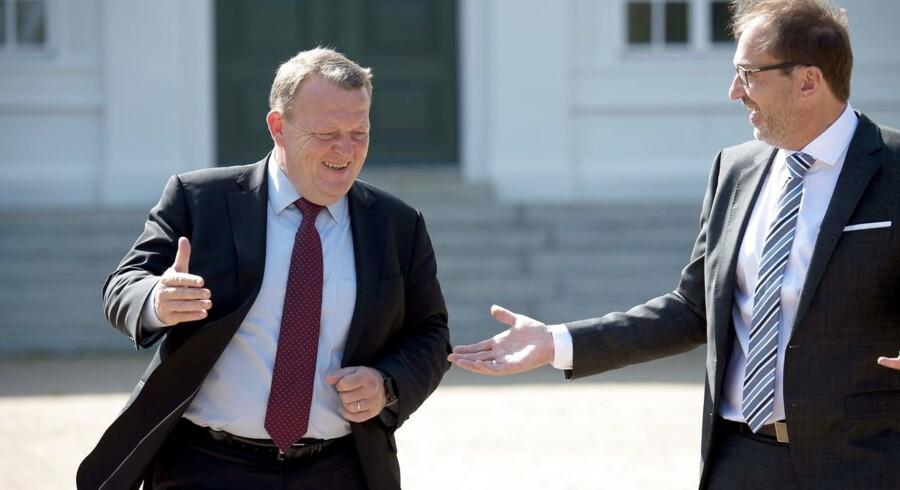 Lars Løkke Rasmussens besøg på det bayerske parti CSUs sommergruppemøde i Neuhardenberg har vakt opsigt i tysk presse. F.eks. skrev tysk TV, ZDF, inden mødet, at »alarmklokkerne« ringede hos Merkel.