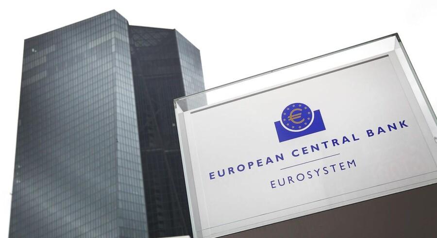 I juni vurderede ECB, at den økonomiske vækst ville falde fra 2,1 pct. i år til 1,7 pct. i 2020.