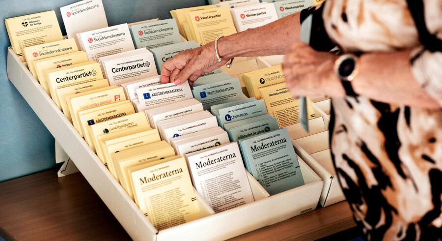 Fintællingen af stemmerne i Sverige har udviklet sig til en regulær gyser.