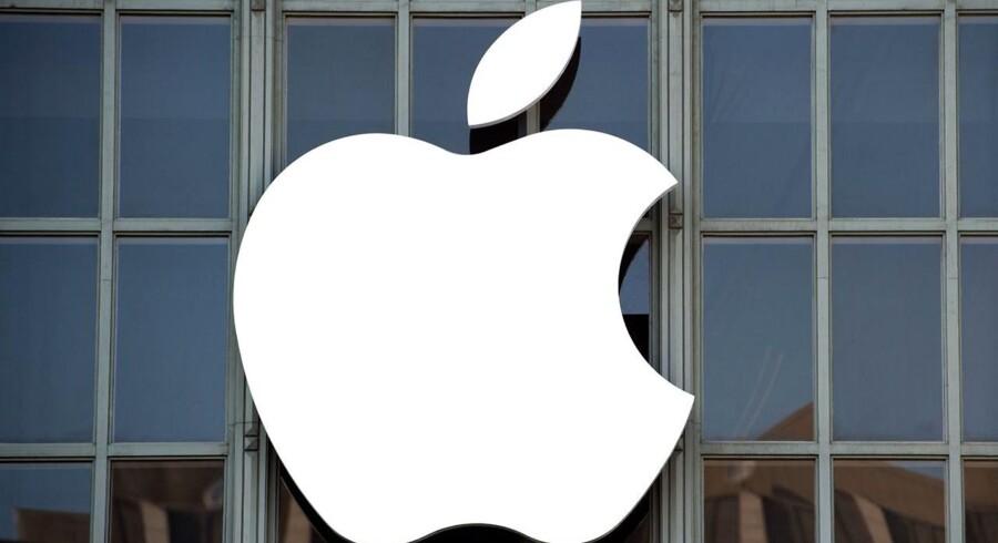 Investorerne har blikket fast rettet mod Apples præsentation af nye produkter, der løber af stablen kl. 19.00 dansk tid (Arkivfoto: Josh Edelson / AFP)