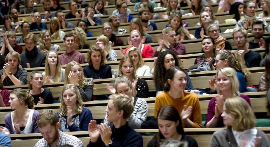 De universitetsstuderende er blevet hurtigere til at færdiggøre deres studier.