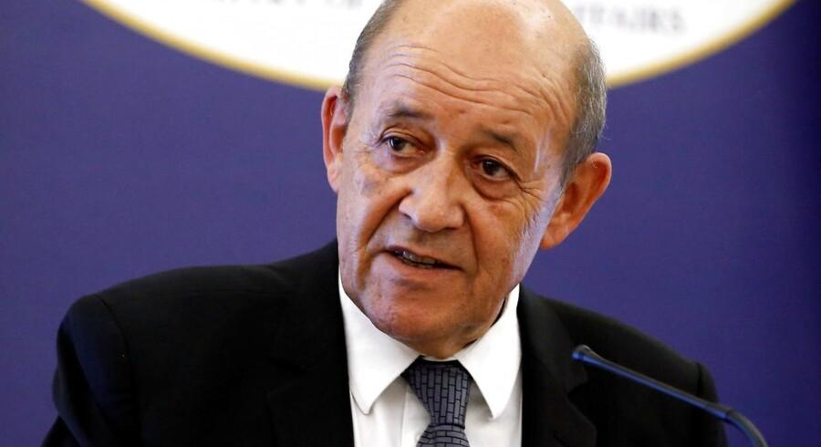 Frankrigs udenrigsminister, Jean-Yves Le Drian.