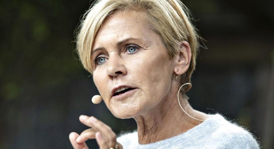Kulturminister Mette Bock stiller op som Liberal Alliances spidskandidat til Europa-Parlamentet.