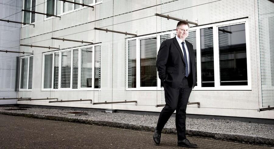 NNIT-topchef Per Kogut har travlt med at øge væksten hos andre kunder, efter at mere og mere af navlestrengen til moderselskabet Novo Nordisk bliver kappet af. Arkivfoto: Linda Kastrup
