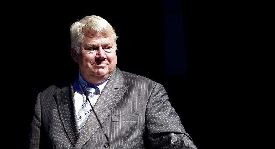 Jørgen Mads Clausen forbliver bestyrelsesformand i Danfoss i et godt stykke tid endnu - han ser ikke, at der er oplagte efterfølgere i familien.