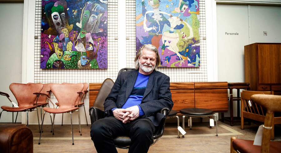 Bengt Sundstrøm er hovedejer af Lauritz.com og forsøger at trække selskabet ud af en truende gældsklemme. Arkivfoto: Nels Ahlmann Olesen