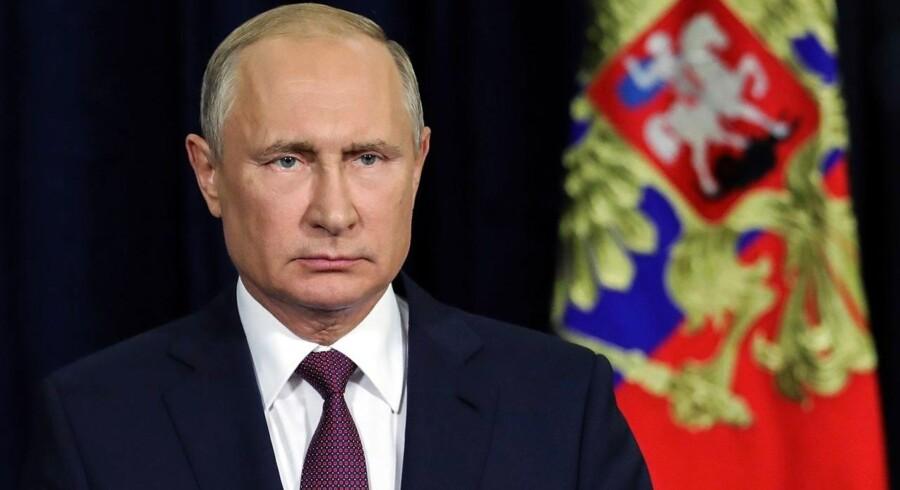 Russiske mænd protesterer mod ny pensionsalder på 65 år. Den gennemsnitlige levealder for mænd er 66 år.