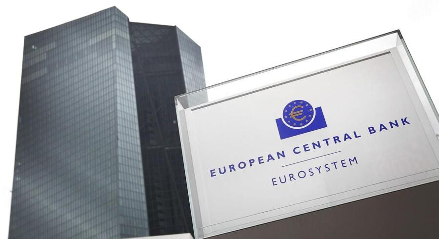 Den europæiske centralbank.