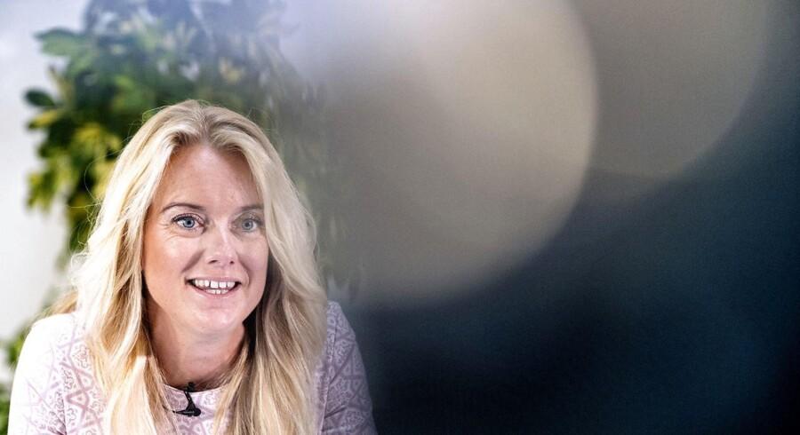 Partiformand Pernille Vermund, Nye Borgerlige, har tre ultimative krav til Lars Løkke Rasmussen, hvis han skal regne med støtte fra Nye Borgerlige efter et kommende folketingsvalg. Blå blok kalder kravene »umodne« og »farlige«.(Foto: Bax Lindhardt/ Scanpix 2018)
