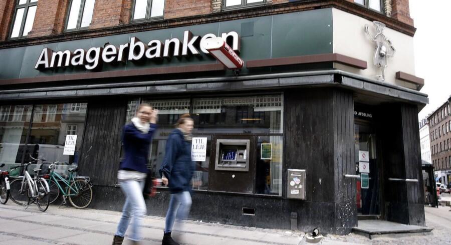 Da Amagerbanken gik konkurs i 2011, blev den føjet til listen over danske banker, der måtte lade livet som følge af finanskrisen, så filialen på Nørrebrogade i København skulle have nye lejere.