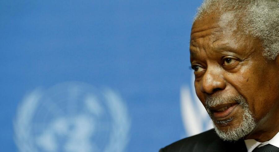Siden Kofi Annans fratrædelse som generalsekretær i 2007, er FNs globale anseelse blevet reduceret, og står i dag nærmest og vakler under angreb fra den amerikanske præsident Donald Trump.