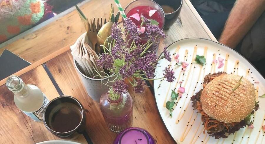 Organic Boho Burger er overraskende mandevenlig og mættende