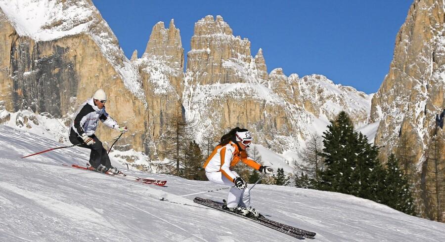 Også i Canazei nyder man godt af den ekspertise i pistepræparering, Italien er kendt for. Foto: Ralf Brune ApT Val di Fassa